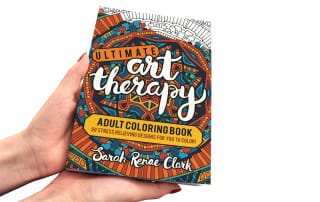 Ultimate Art Therapy Adult Coloring Book