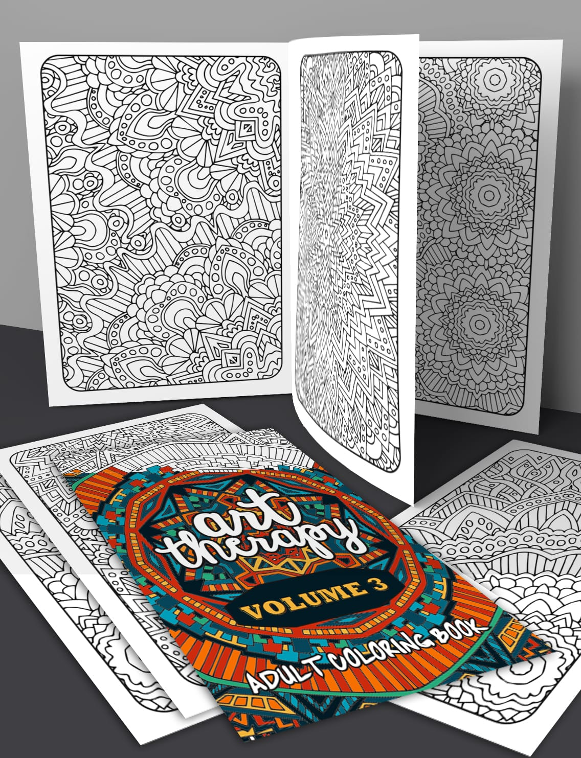Art Therapy Coloring Book National Bookstore Volume Printable Adult