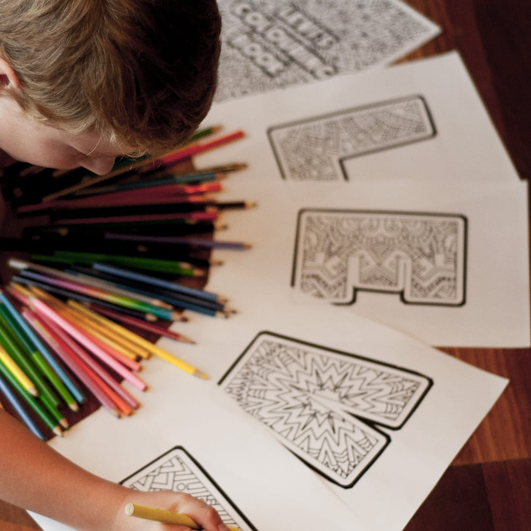 Kids Personalized Printable Adult Coloring Book - Sarah Renae Clark ...