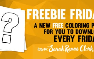 Freebie Friday - free coloring pages 5