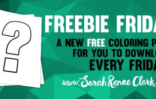 Freebie Friday - free coloring pages