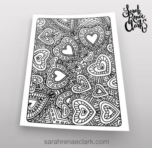 Art Therapy 1-02 coloring page