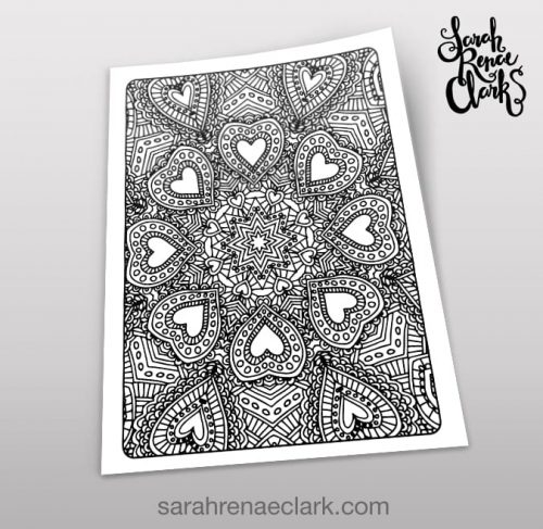 Art Therapy 1.03 - Coloring Page