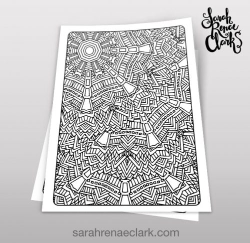 Art Therapy 1.04 - Coloring Page