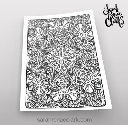 Art Therapy 1.05 - Coloring Page