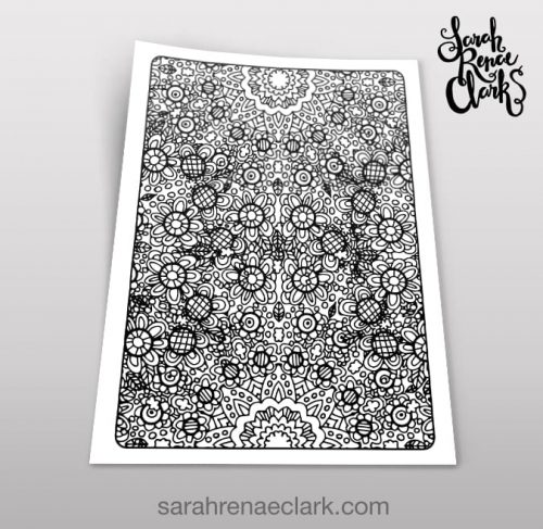 Art Therapy 1.07 - Coloring Page