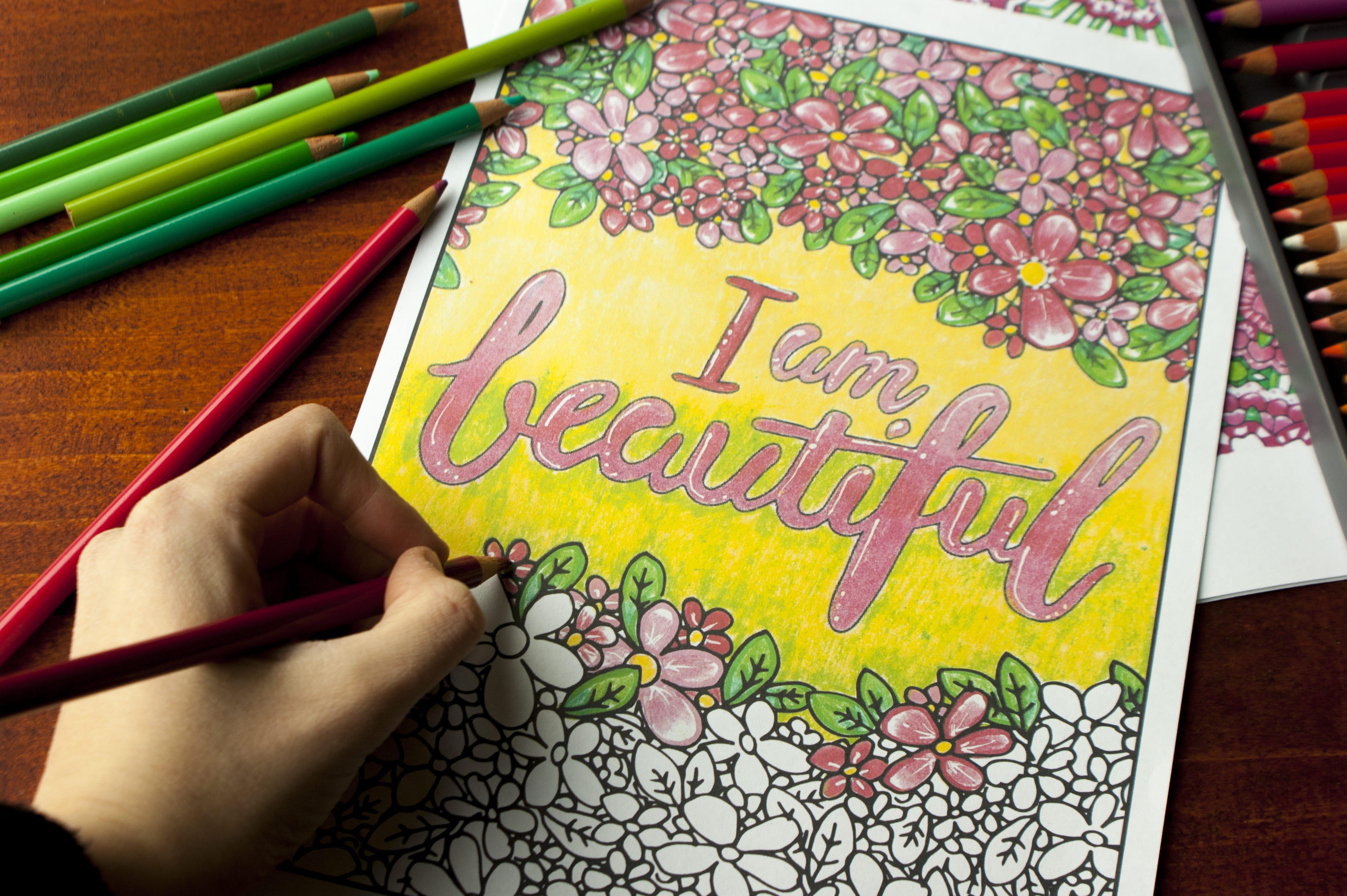 Media - Sarah Renae Clark - Coloring Book Artist and Designer