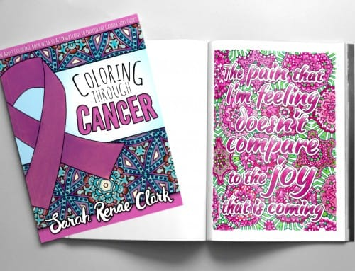 New Adult Coloring Book: Coloring Through Cancer