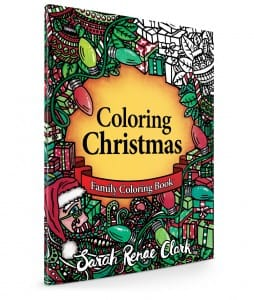 Coloring Christmas Family Coloring Book