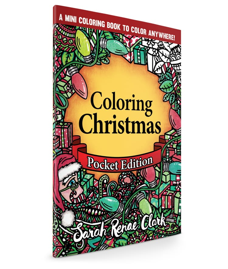Coloring Christmas: Pocket Edition
