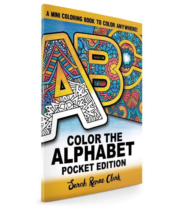 Color the Alphabet: Pocket Edition