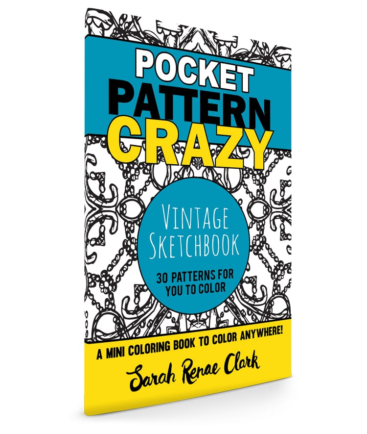 Pocket Pattern Crazy: Vintage Sketchbook
