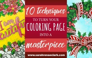 These 10 videos teach you a variety of interesting pencil, marker, gel pen and blending techniques that will help you take your coloring to the next level. See the post at: https://sarahrenaeclark.com/2016/these-10-simple-techniques-will-turn-your-coloring-page-into-a-masterpiece/