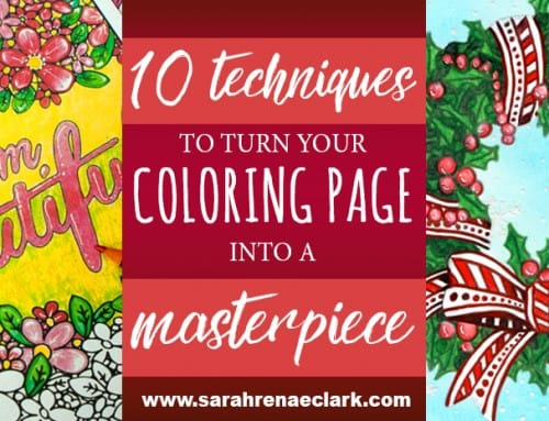 These 10 simple techniques will turn your coloring page into a masterpiece