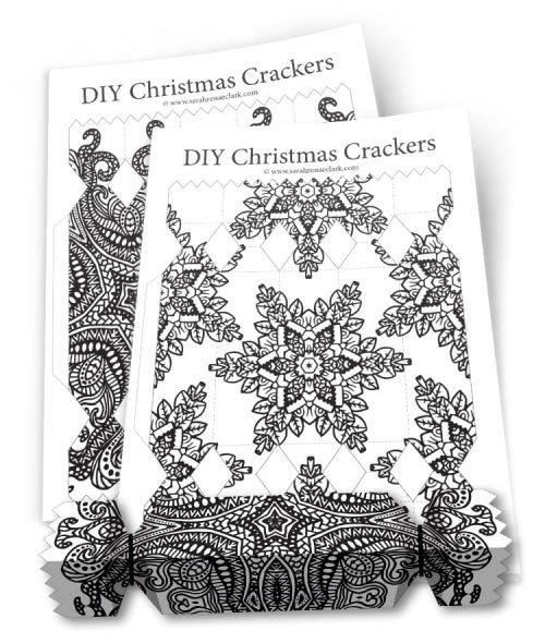 Christmas Cracker Templates
