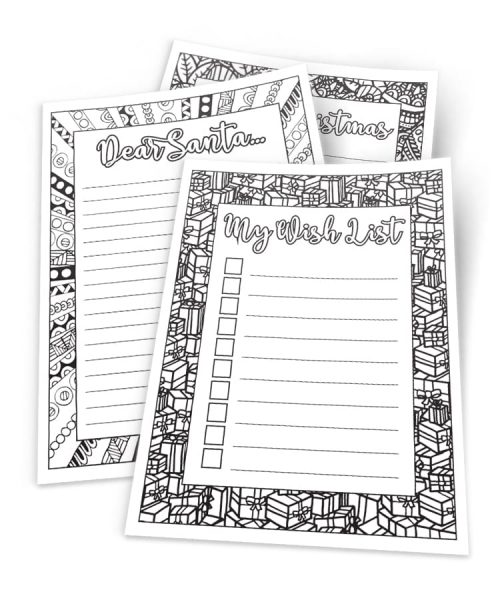 Printable Christmas Stationary