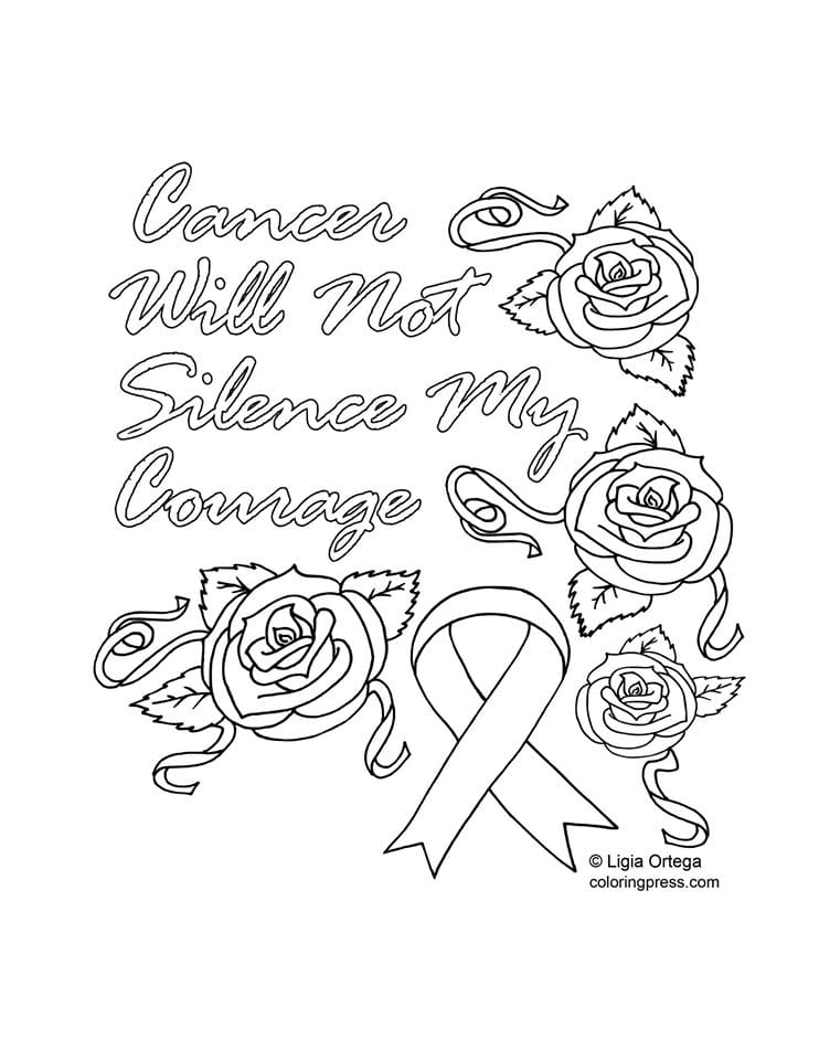 7 Artists Giving Away Free Coloring Pages For Cancer Awareness