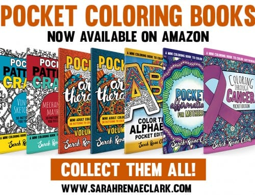 New Pocket Books so you can color on-the-go