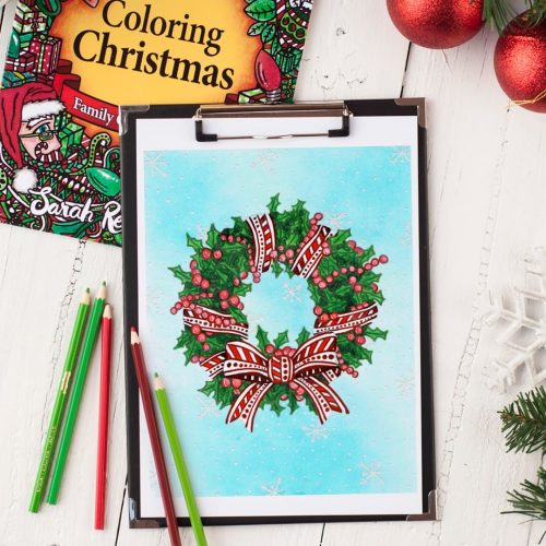 "Check out this coloring page from ""Coloring Christmas"" 