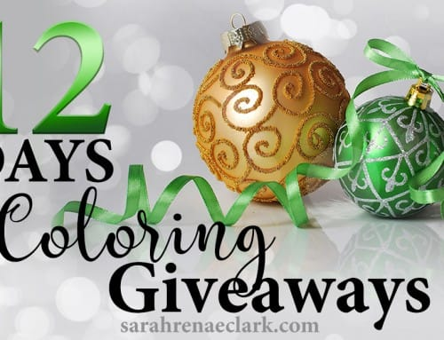 12 Days of Coloring Giveaways 2016