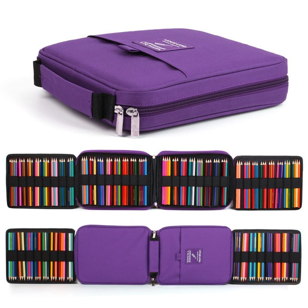 Pencil Carry Case - - 20 Clever Ways to Organize Your Coloring Supplies