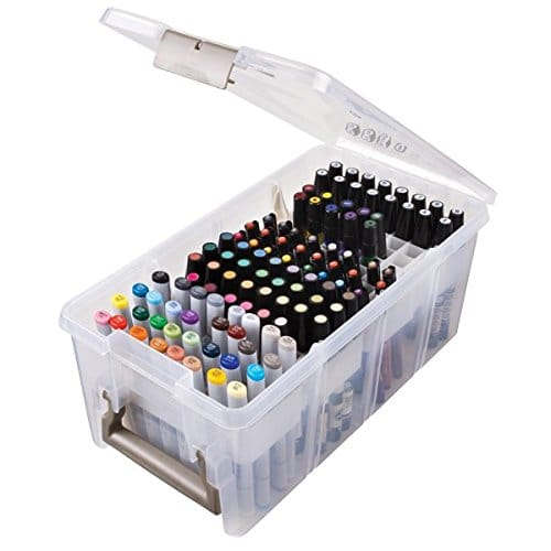 ArtBin Marker Storage - 20 Clever Ways to Organize Your Coloring Supplies