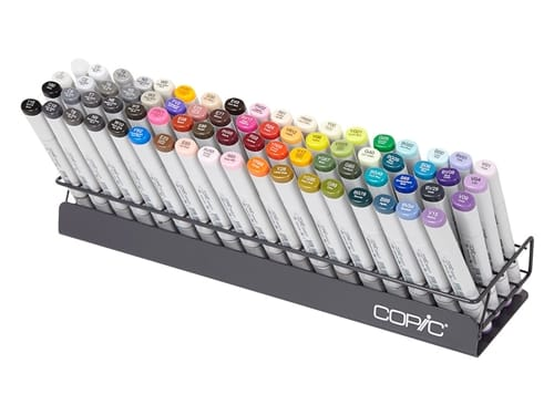 Copic Marker Wire Stand - 20 Clever Ways to Organize Your Coloring Supplies