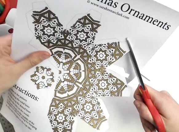 DIY Christmas Ornament Tutorial Step 03