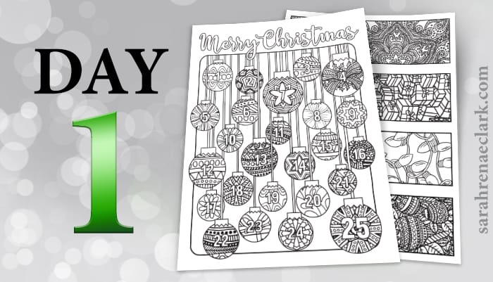 12 Days of Coloring Giveaways - Day 1