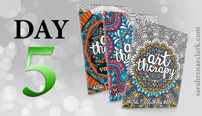 12 Days of Coloring Giveaways - Day 5
