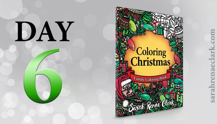 12 Days of Coloring Giveaways - Day 6