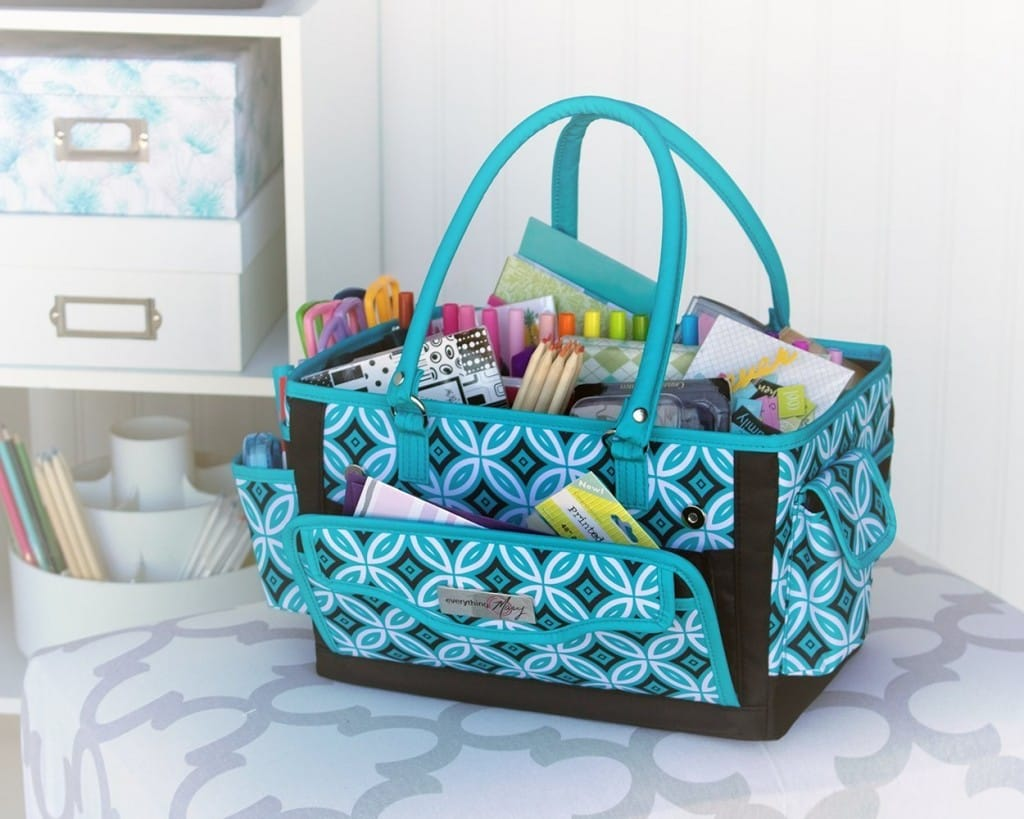 Papercraft Organizer - 20 Clever Ways to Organize Your Coloring Supplies