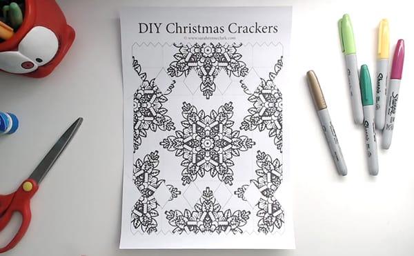 How to make a DIY Christmas Cracker - Step 1