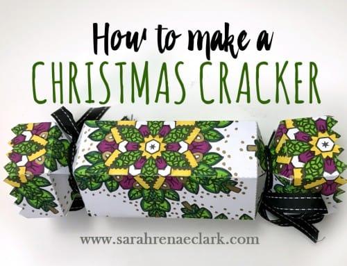 How to make a Christmas Cracker (BONUS free template)