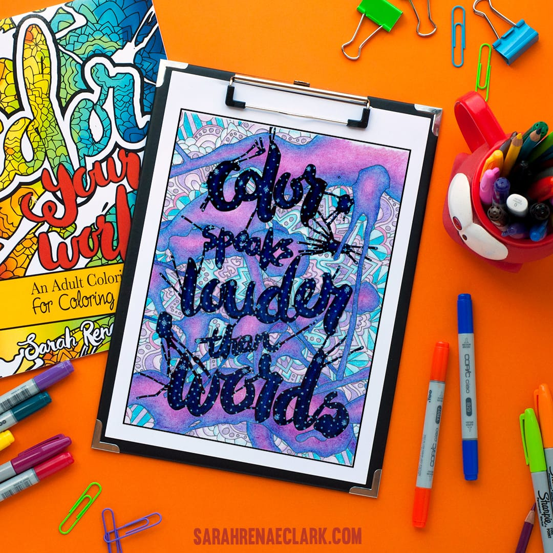 never stop coloring free coloring page