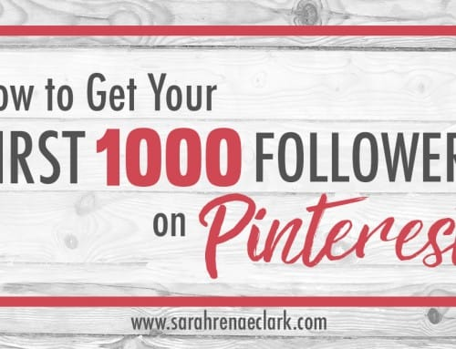 How to Get Your First 1000 Followers on Pinterest (Quickly!)
