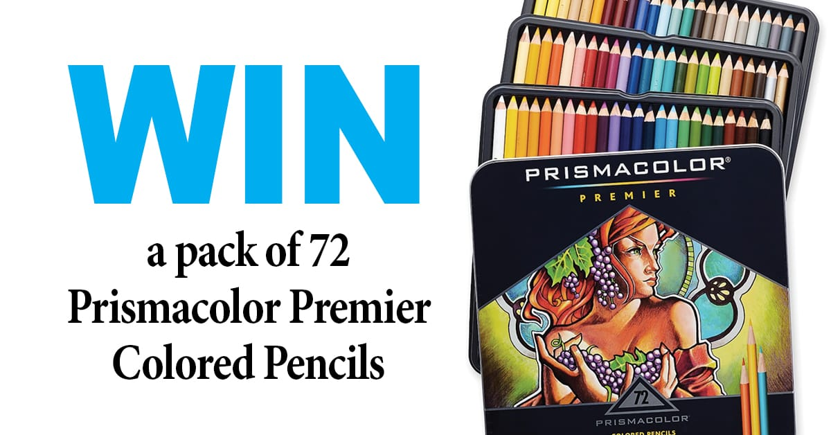 Enter your details to win a pack of 72 Prismacolor Premier Colored Pencils! Subscribe to my emails for more giveaways, freebies and printables at www.sarahrenaeclark.com | Coloring for adults, craft supplies, coloring books, coloring giveaways