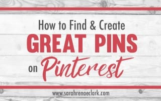 What makes a Pin popular on Pinterest? Let me show you how to find and create quality Pins that will attract your audience and increase your exposure on Pinterest in this step-by-step Pinterest Pin guide. | Pinterest Marketing Tips For Artists | Sarah Renae Clark www.sarahrenaeclark.com