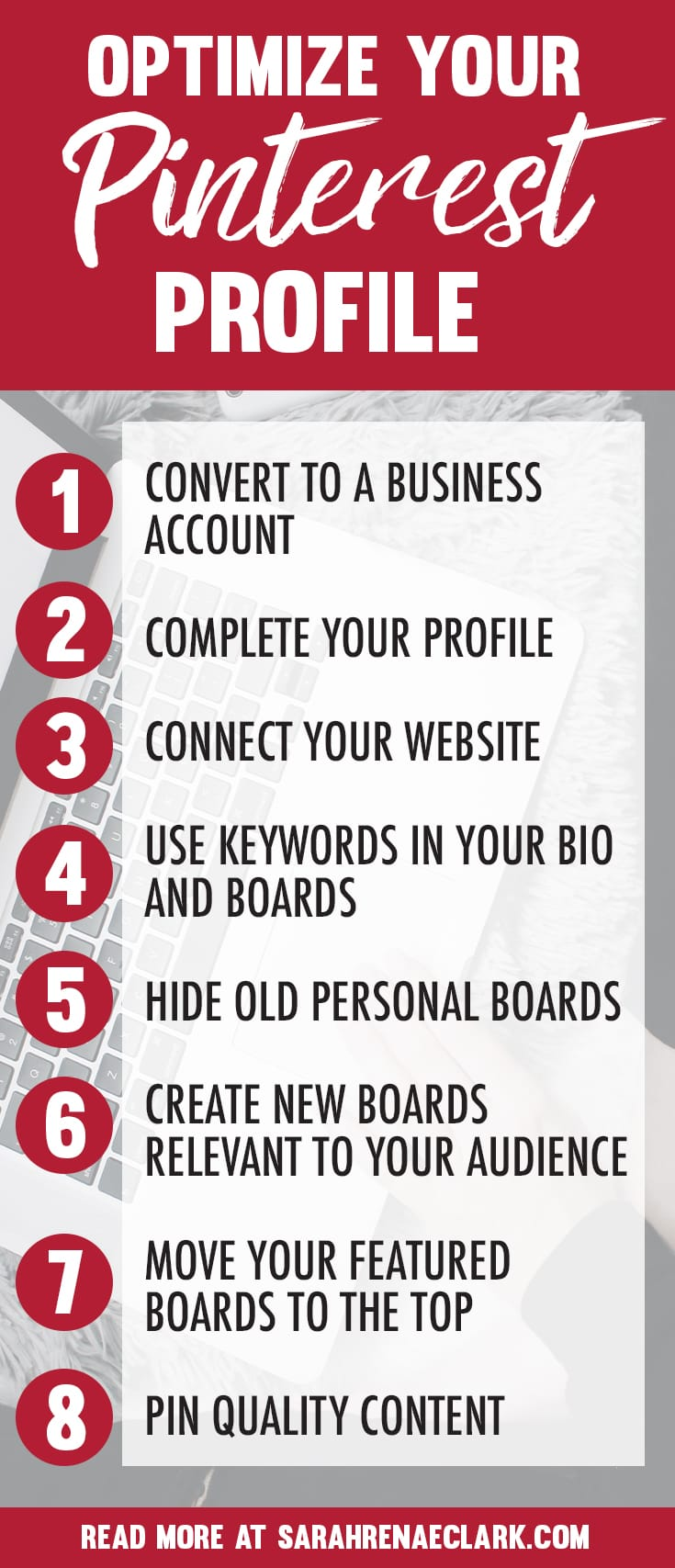 Pinterest marketing tips to optimize your Pinterest Profile and Create an Account That Attracts Followers