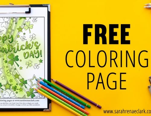 Free St Patrick's Day Coloring Page