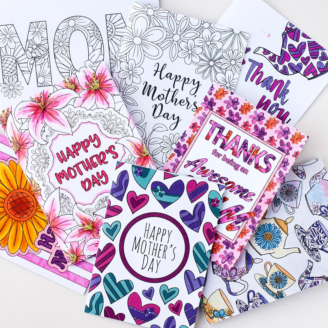 Free Mothers Day Card Printable Template Sarah Renae Clark - Free mother's day card templates