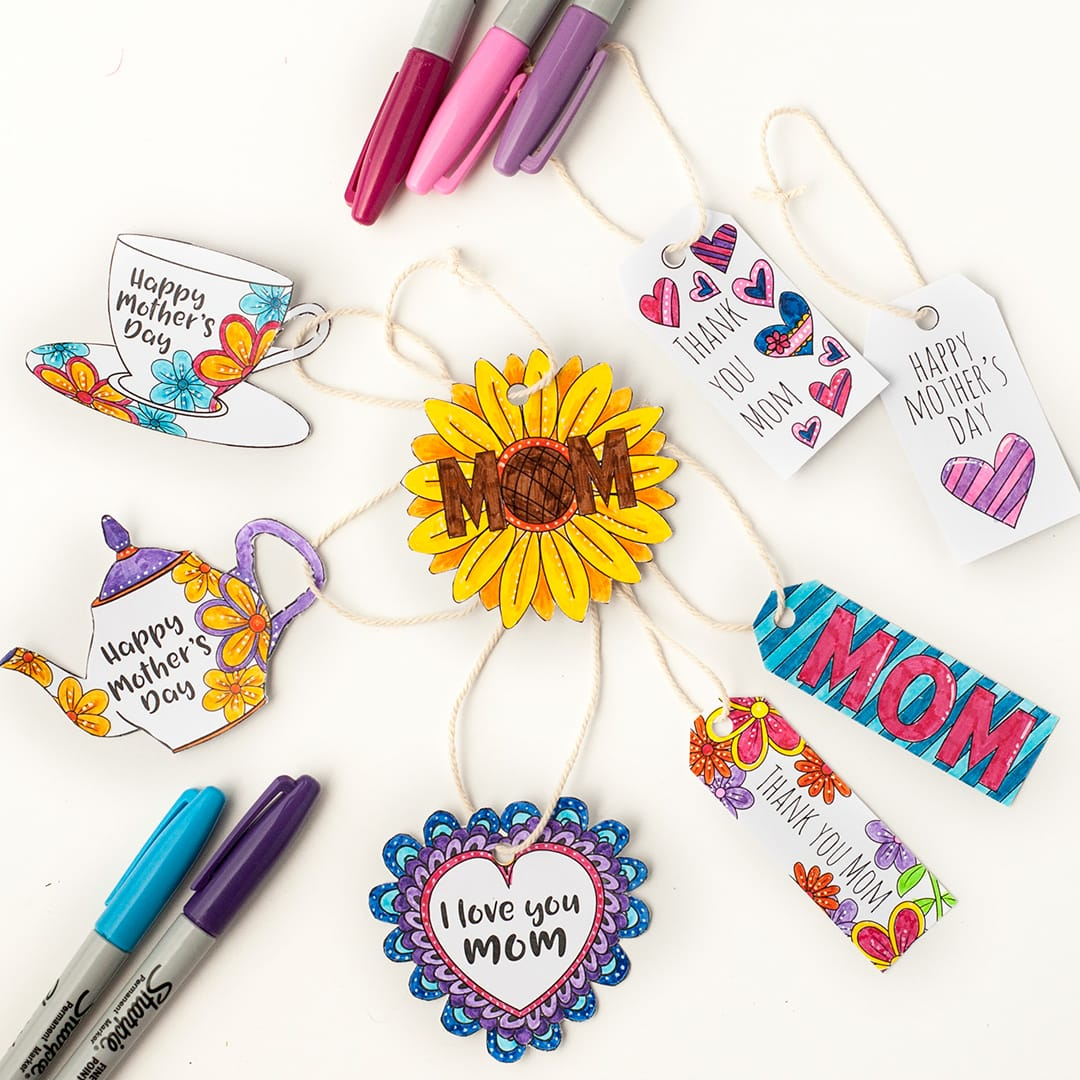 Mother 39 s Day Gift Tags 8 Pack