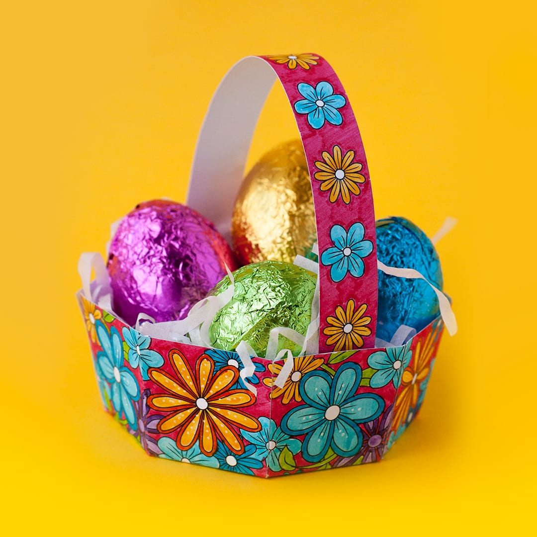 How to Make an Easter Egg Basket