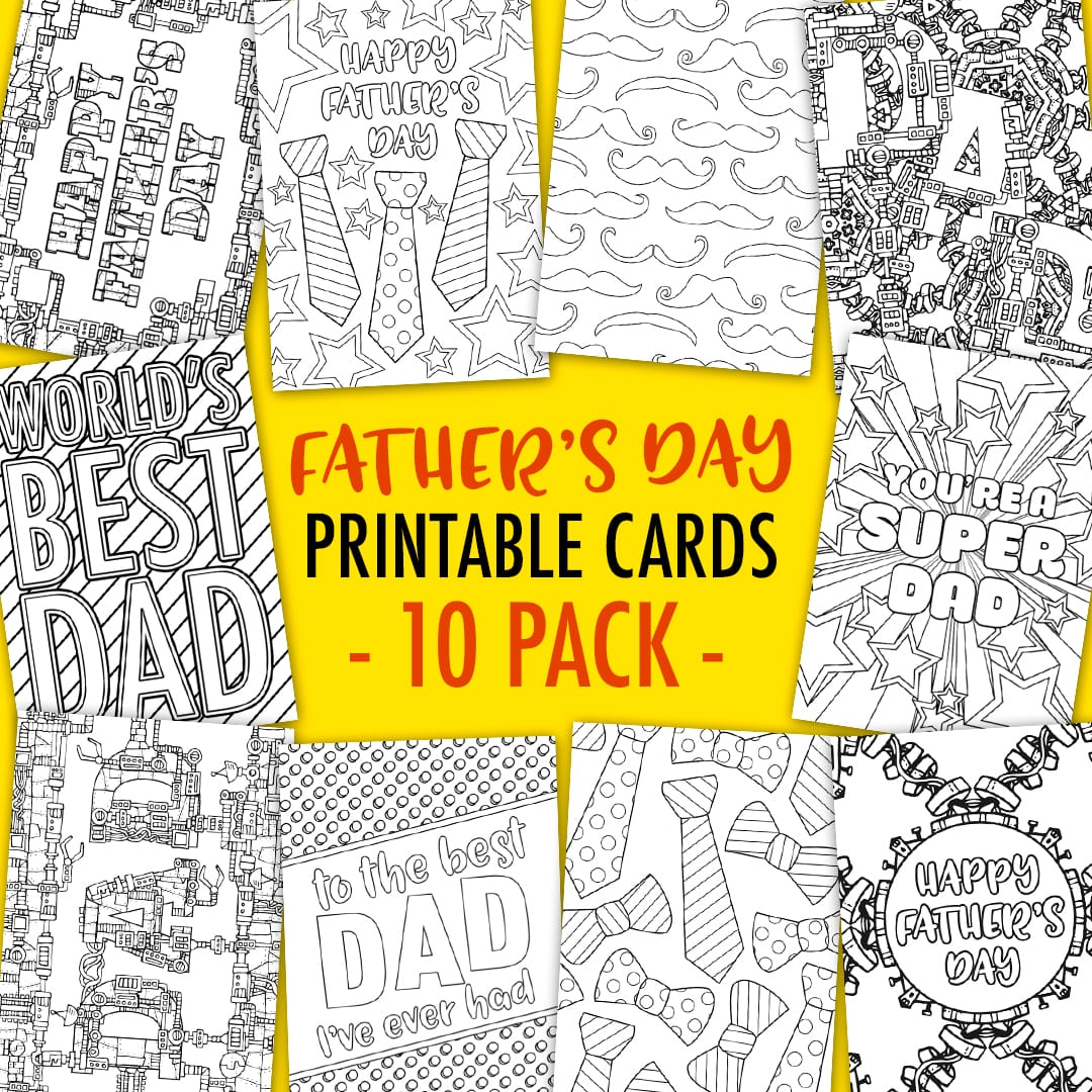 graphic about Printable Fathers Day Cards referred to as Totally free Fathers Working day Card Printable Template - Sarah Renae