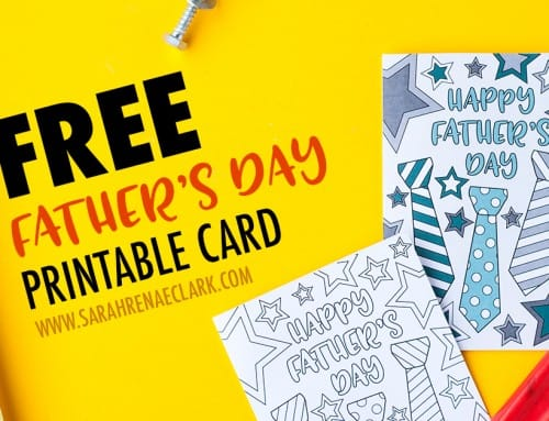 Free Father's Day Card | Printable Template