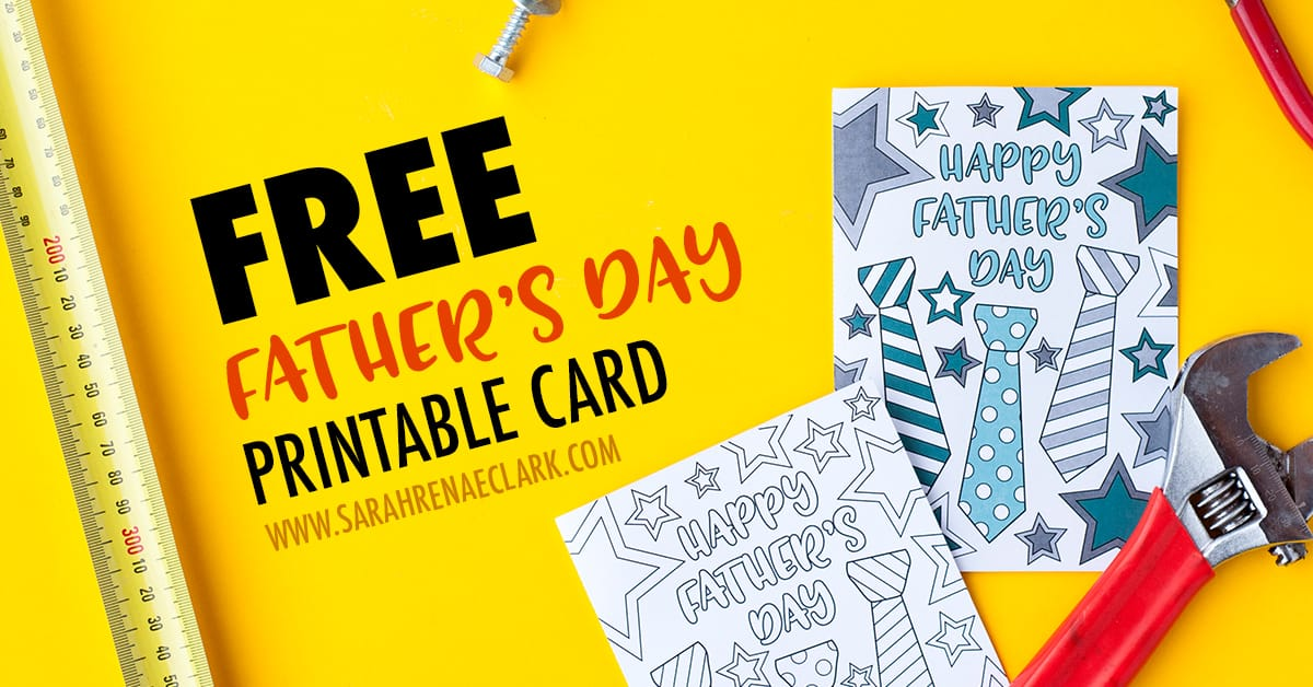 It is a picture of Versatile Fathers Day Card Template Free