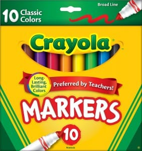 Learn how to create watercolor art with Crayola markers