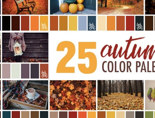 25 Autumn Color Palettes