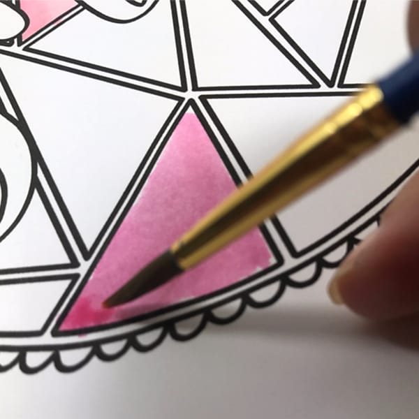 Use your cheap Crayola markers as a watercolor paint alternative – step 5