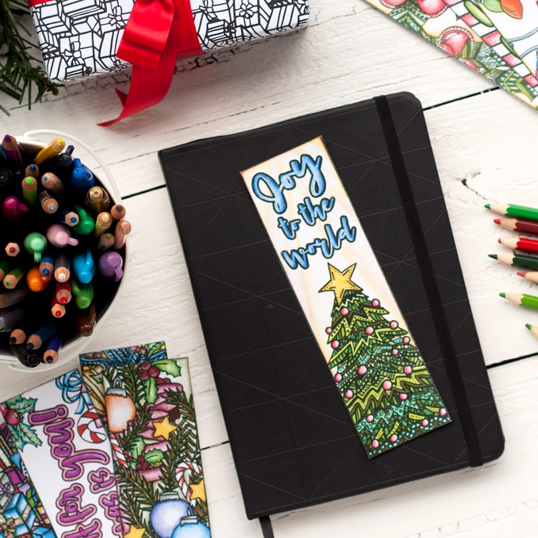 Christmas Bookmarks – Christmas Bookmark Templates